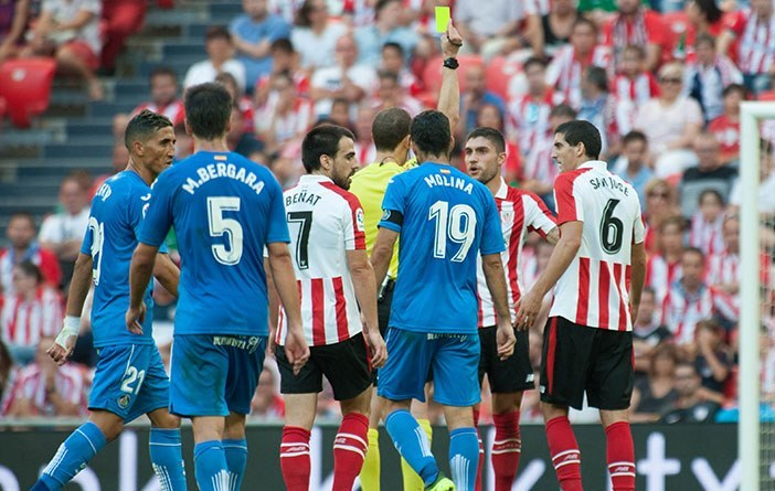 Athletic Club-Getafe CF, cesión de carnés