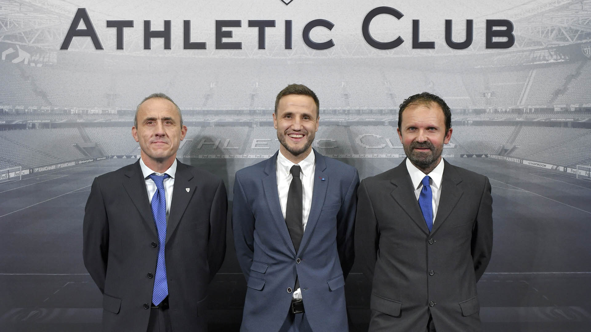 Members in Main Box for the match against Sevilla FC