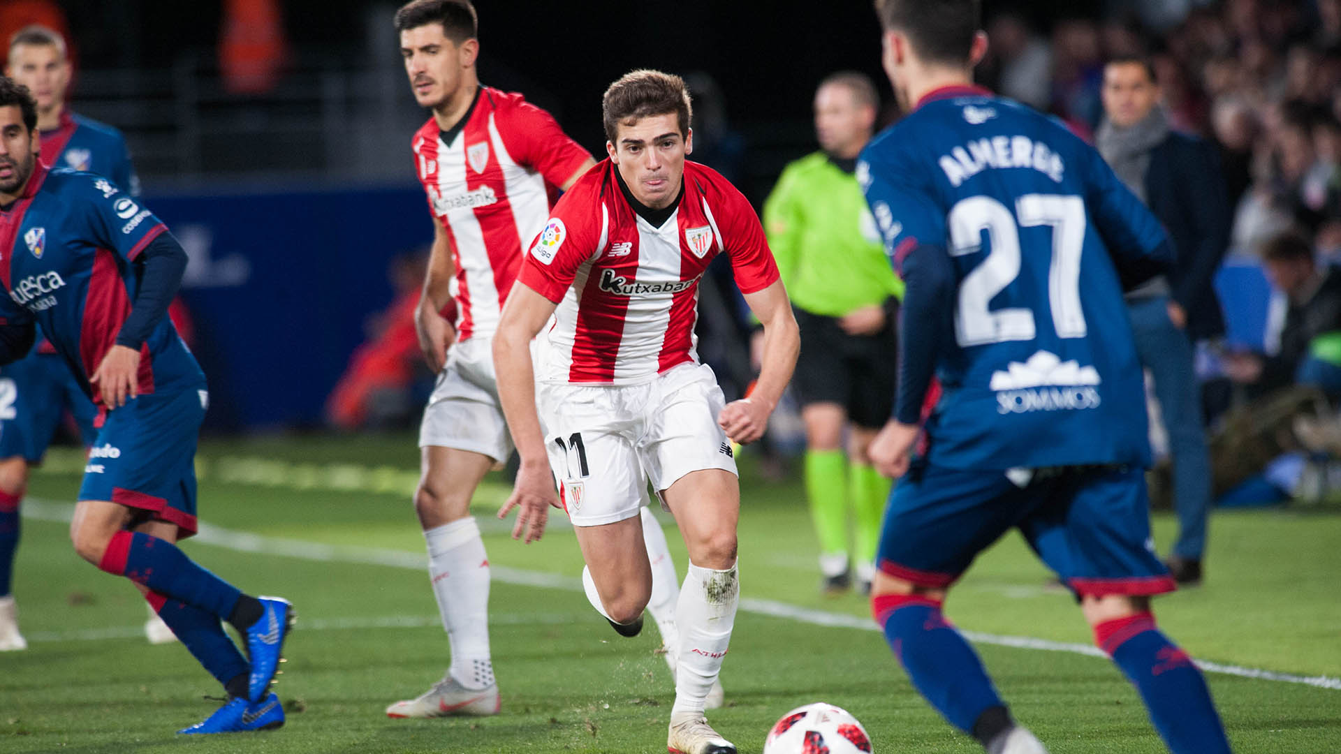 SD Huesca-Athletic Club partidarako sarrerak