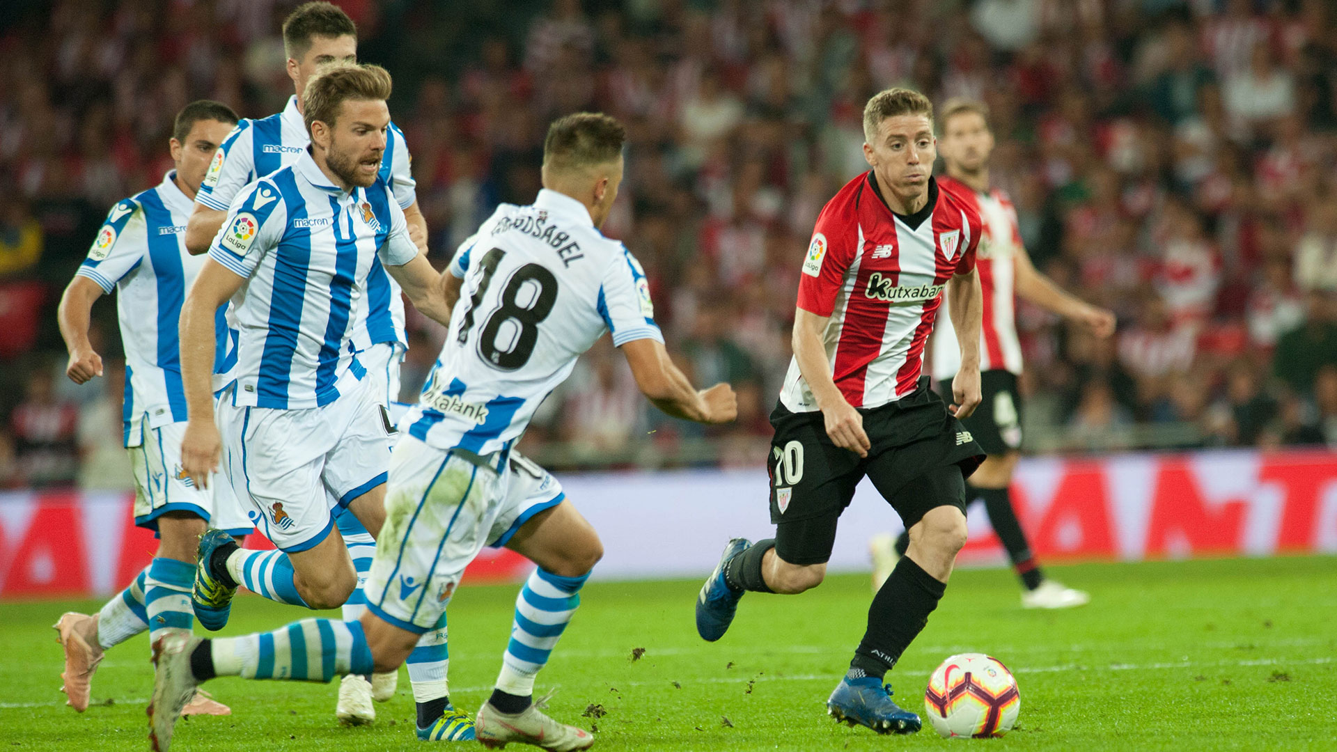 Real Sociedad-Athletic Club, fixture