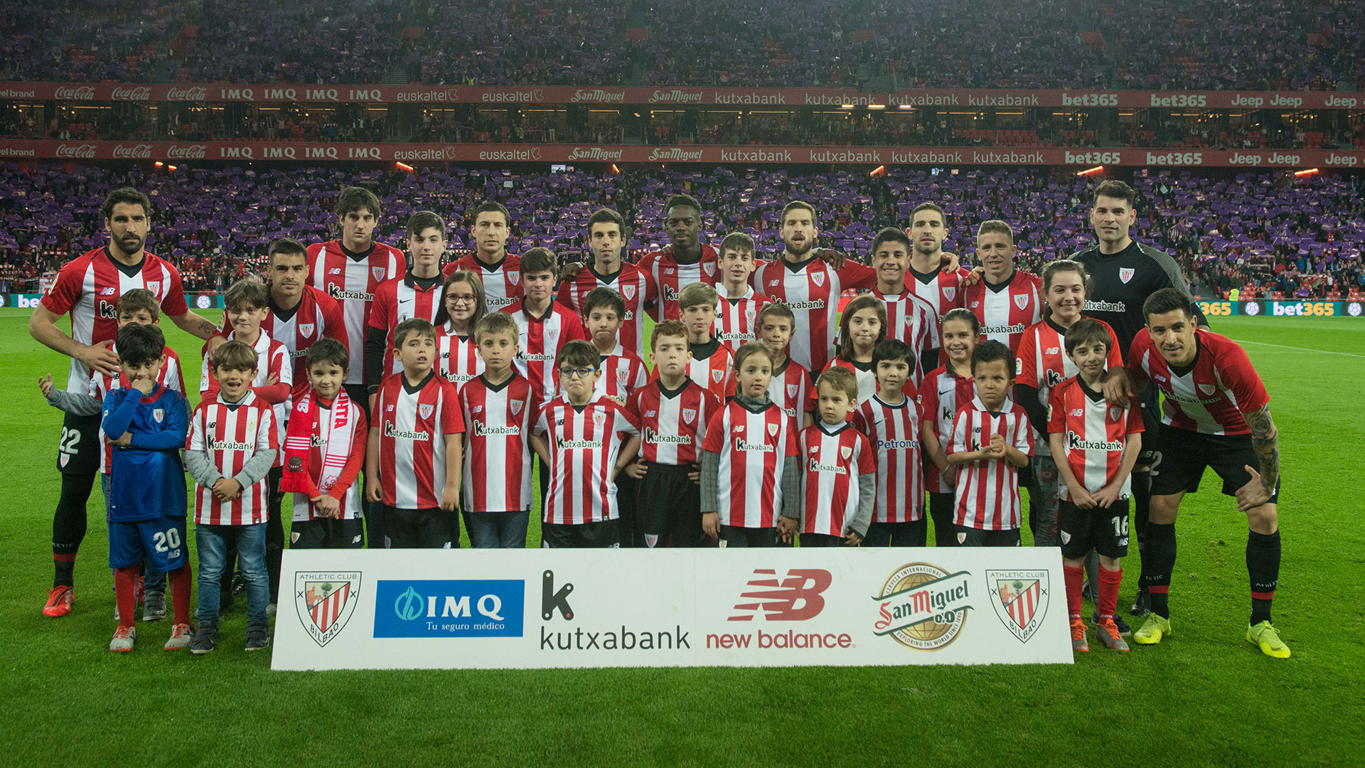 Draw for the photograph with players: Atlético de Madrid