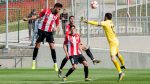 Training match against Eibar in Lezama