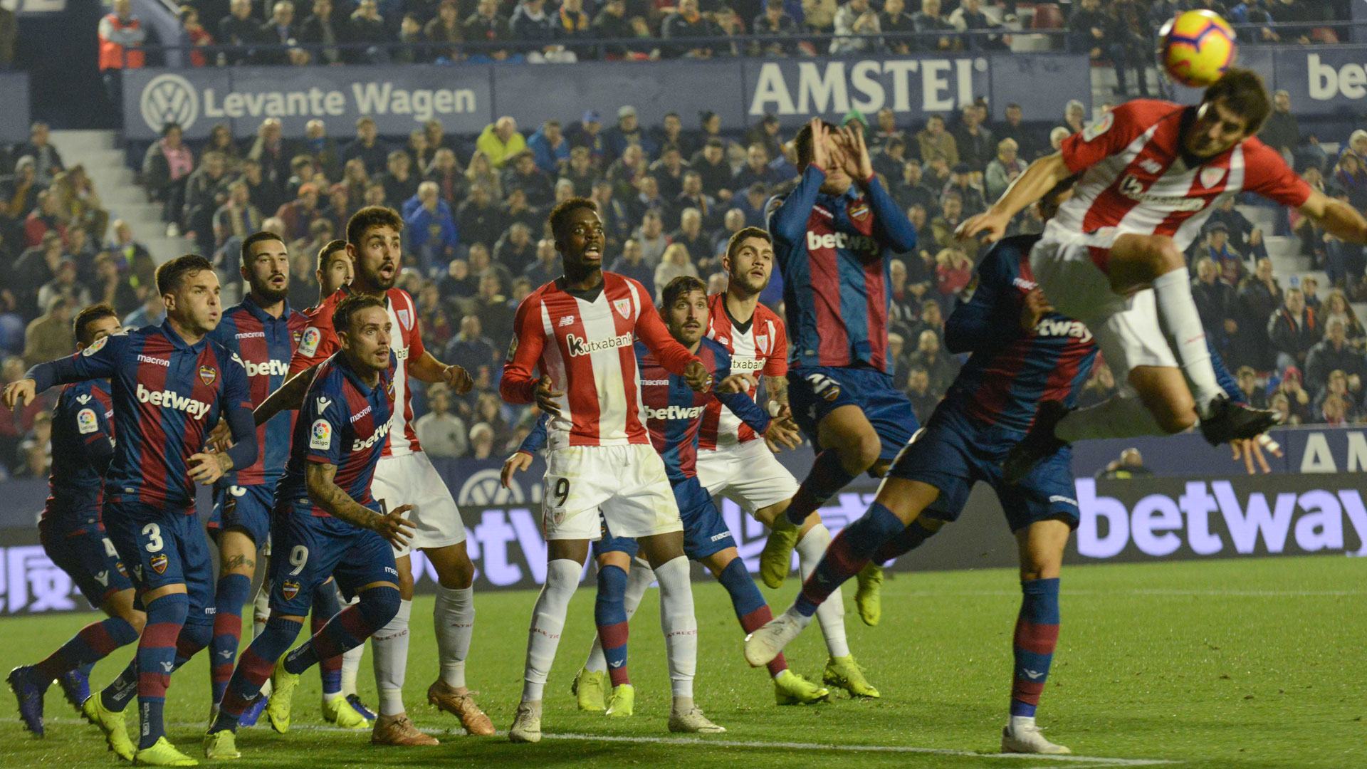 Athletic Club – Levante UD, vente de billets