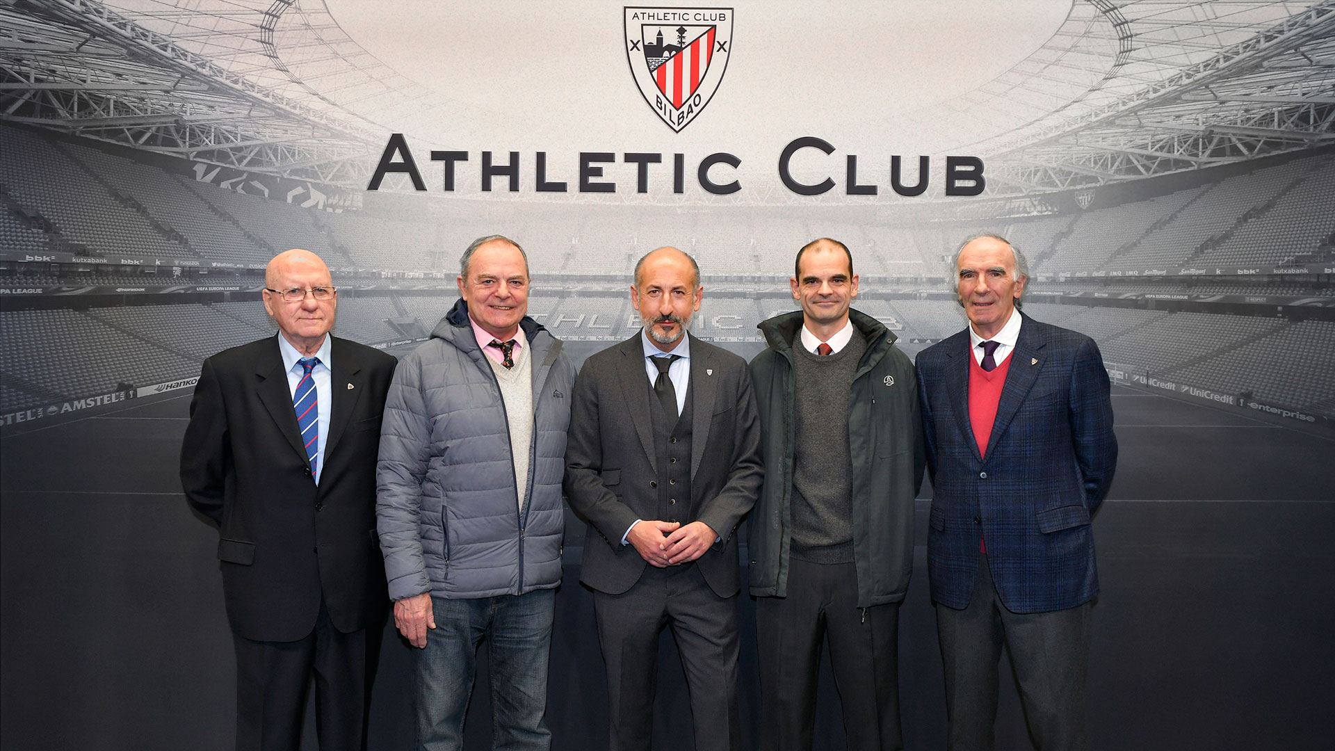 Members in Main Box for the match against Atlético de Madrid