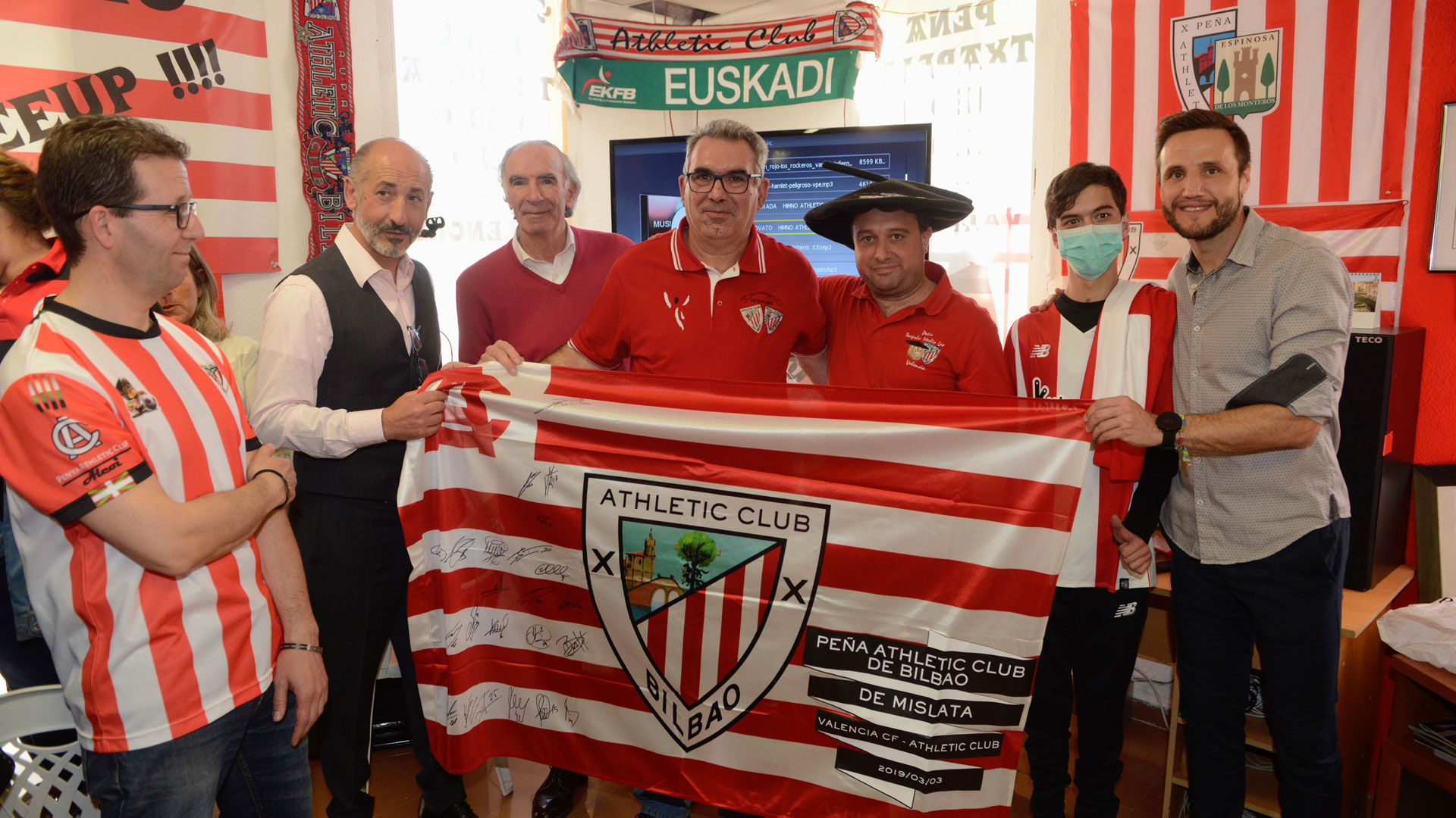 Alicante and Valencia embrace Athletic