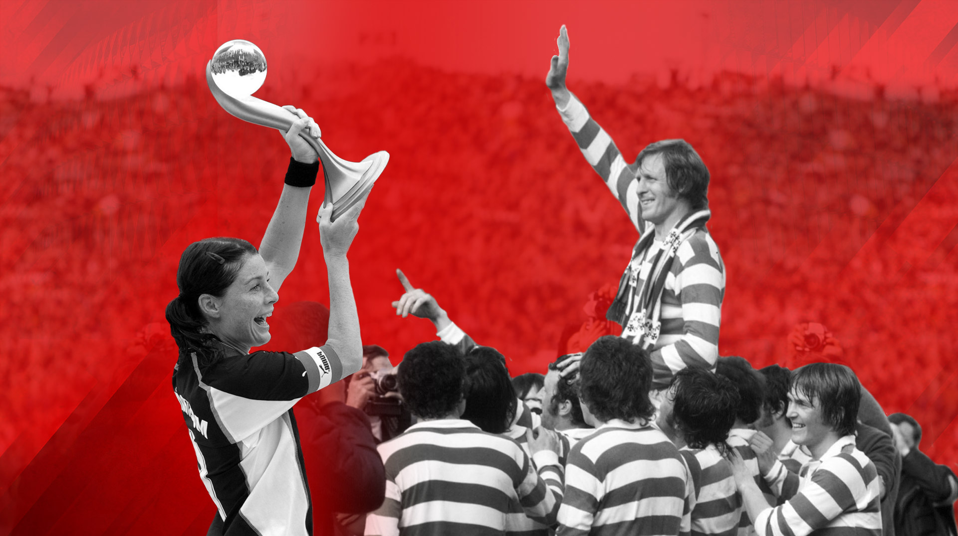 Billy McNeill y Malin Moström, premiados por el Athletic como One Club Awards