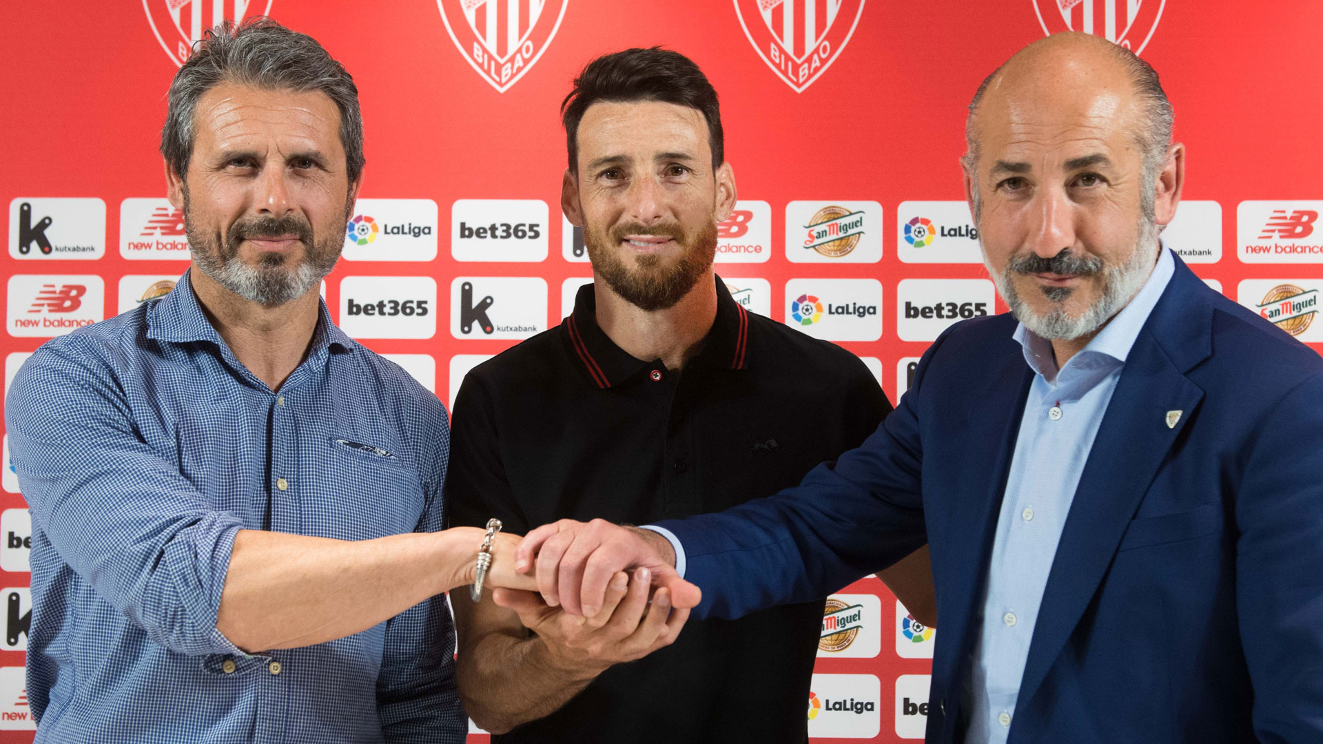 "Aduriz: ""You can't imagine how lucky I feel for wearing this jersey"""