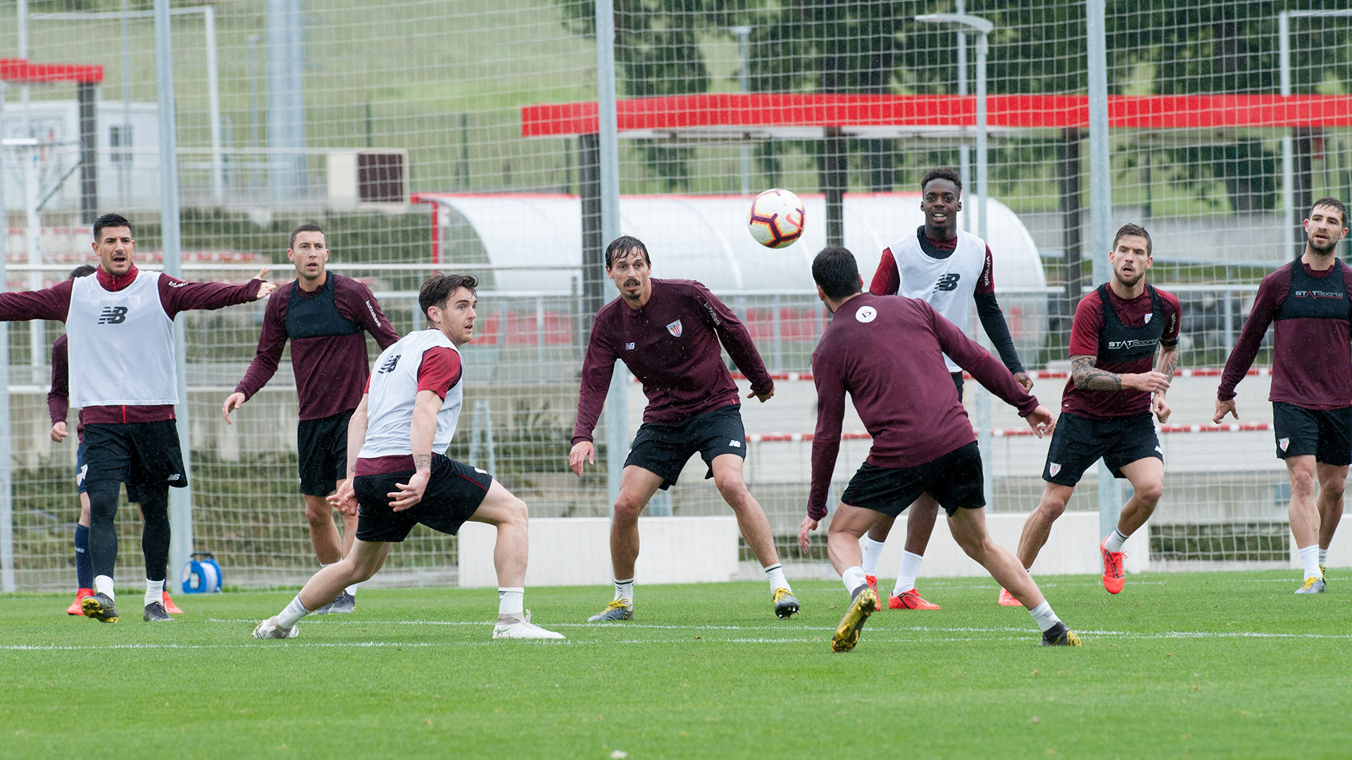 Last training sesision in Lezama for the first team
