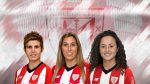 Garazi Murua, María Díaz Cirauqui and Leia Zarate renew with Athletic Club