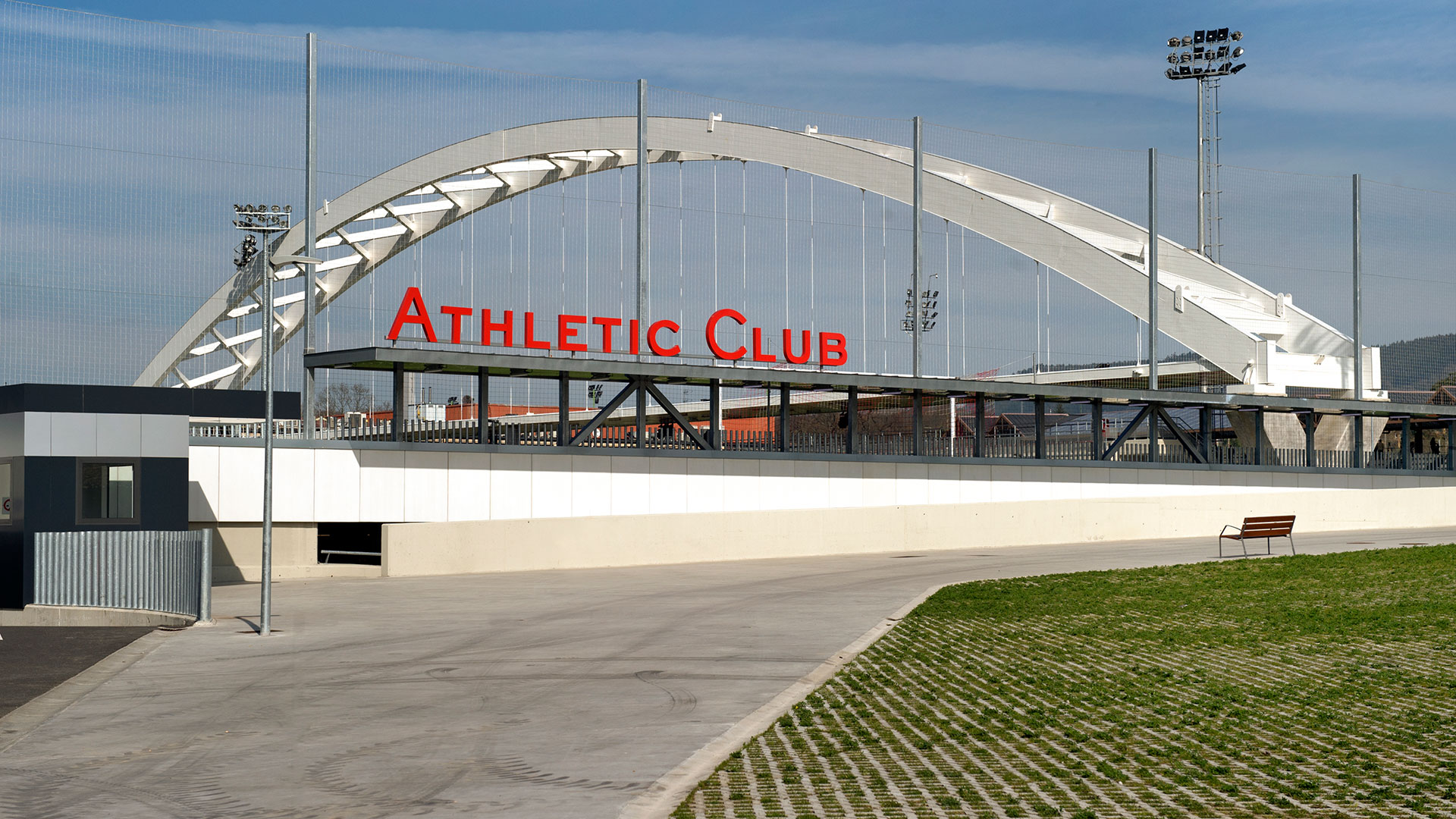 Lezama: tender for the new building for the first men's team
