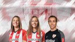 Renewals of Nekane, Marta Perea and Ainhoa Tirapu