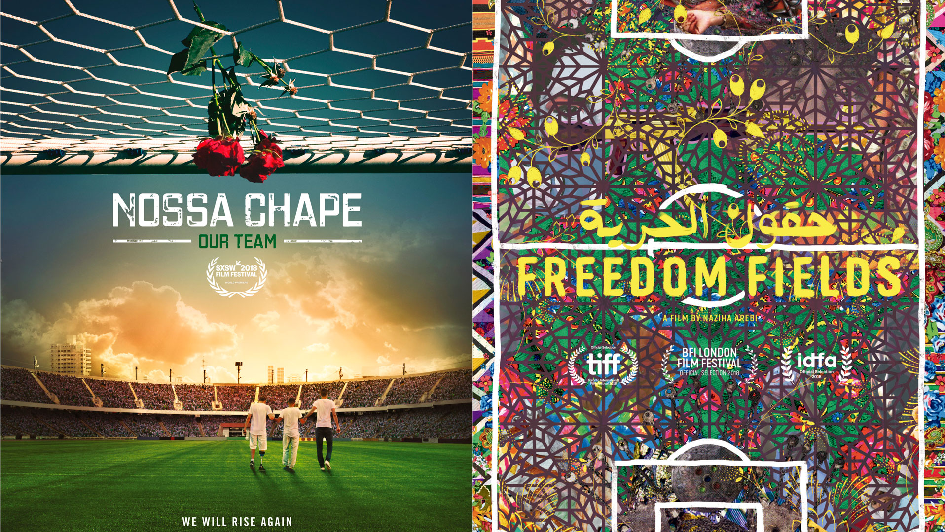 """Nossa Chape"" donates its prize to the ""Freedom Fields"" project"