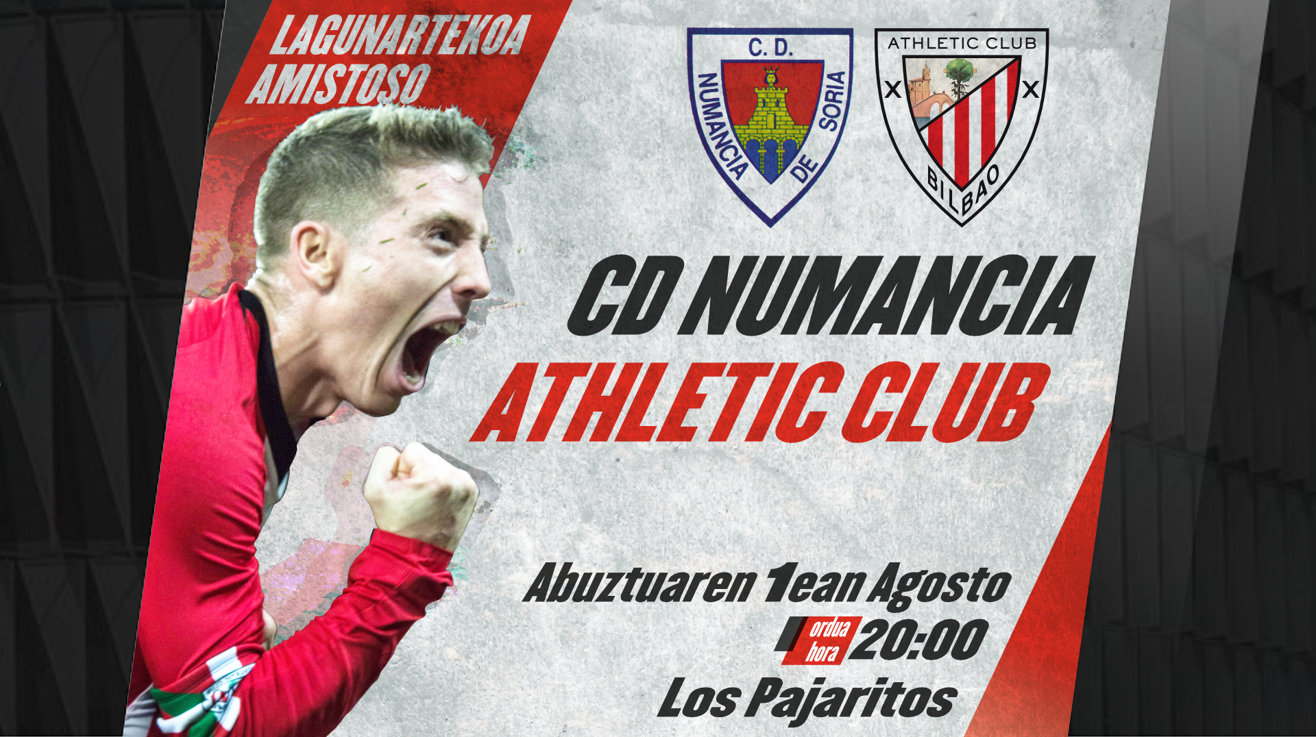 Friendly match in Soria against Numancia