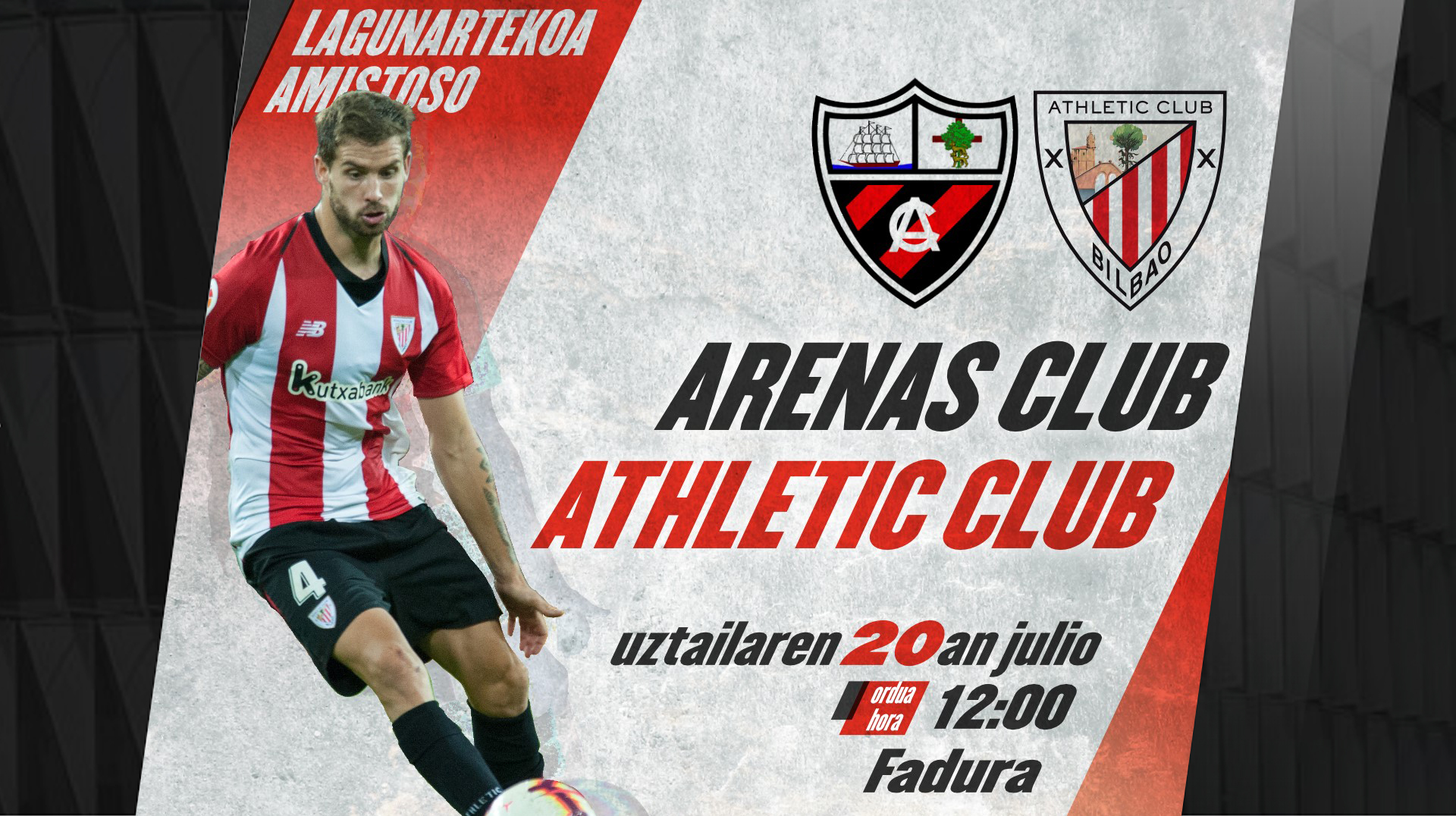 2ec3050e22f Athletic will open the friendly matches against Arenas in Fadura · Watch  video