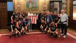 Visita del Athletic Club Bastia