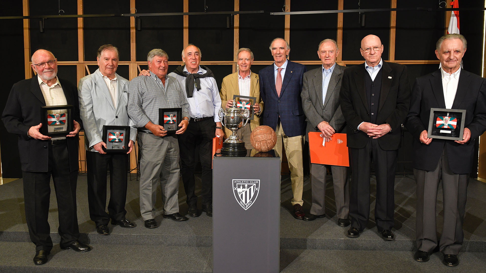 Tribute to the winners of the 69th Cup