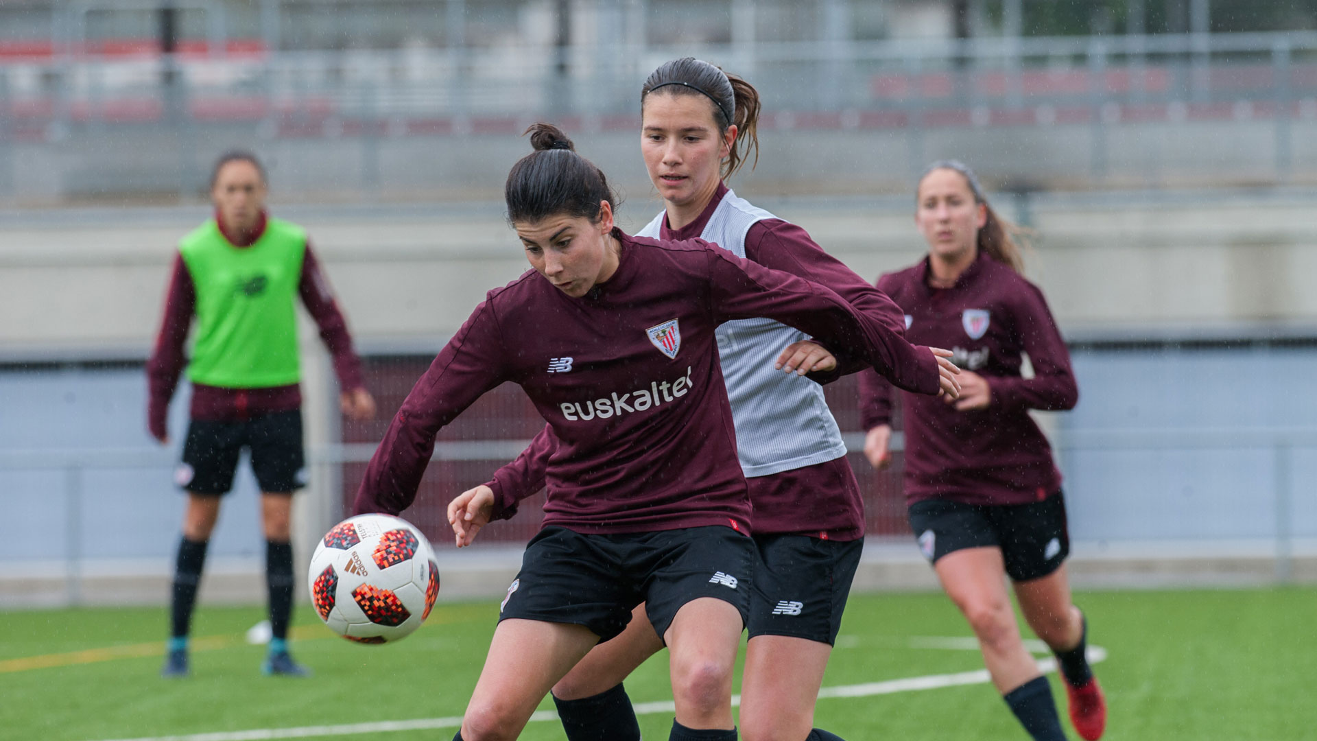 Présentations du Bilbao Athletic, du CD Basconia et de l'Athletic Féminin