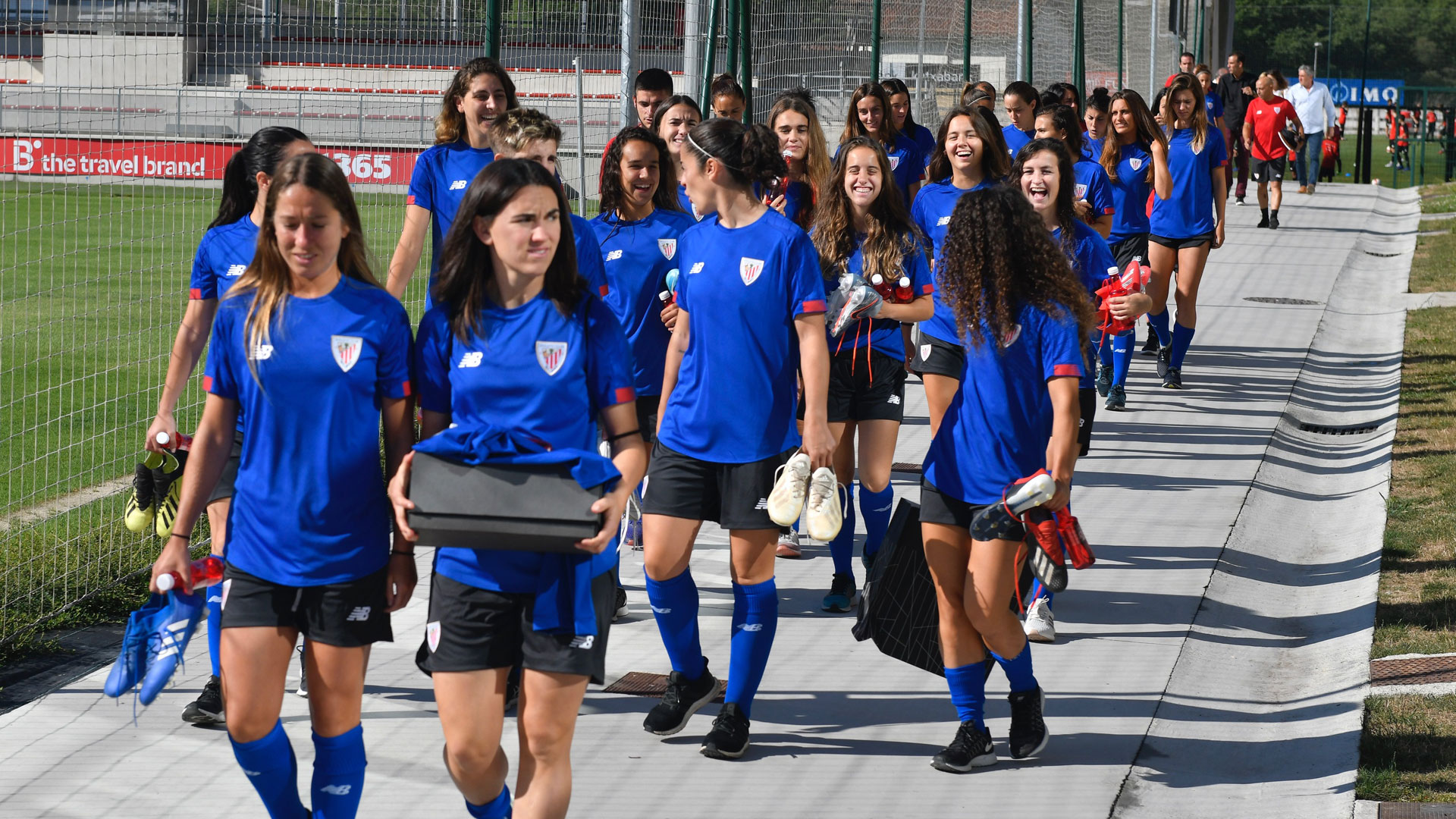 Parte médico del Athletic Club Femenino