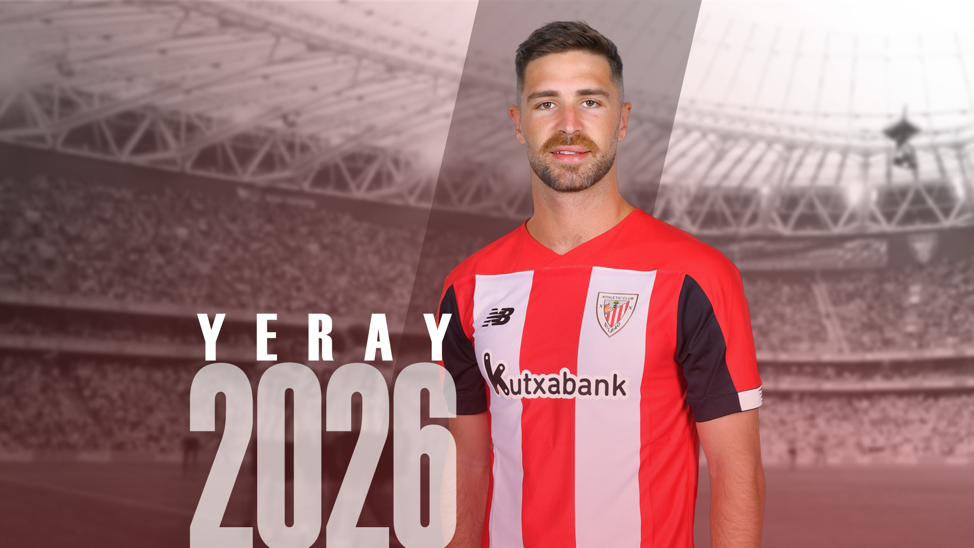 Renewal of Yeray Álvarez