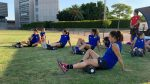 Athletic Club ladies' team, in search of the Carraza title