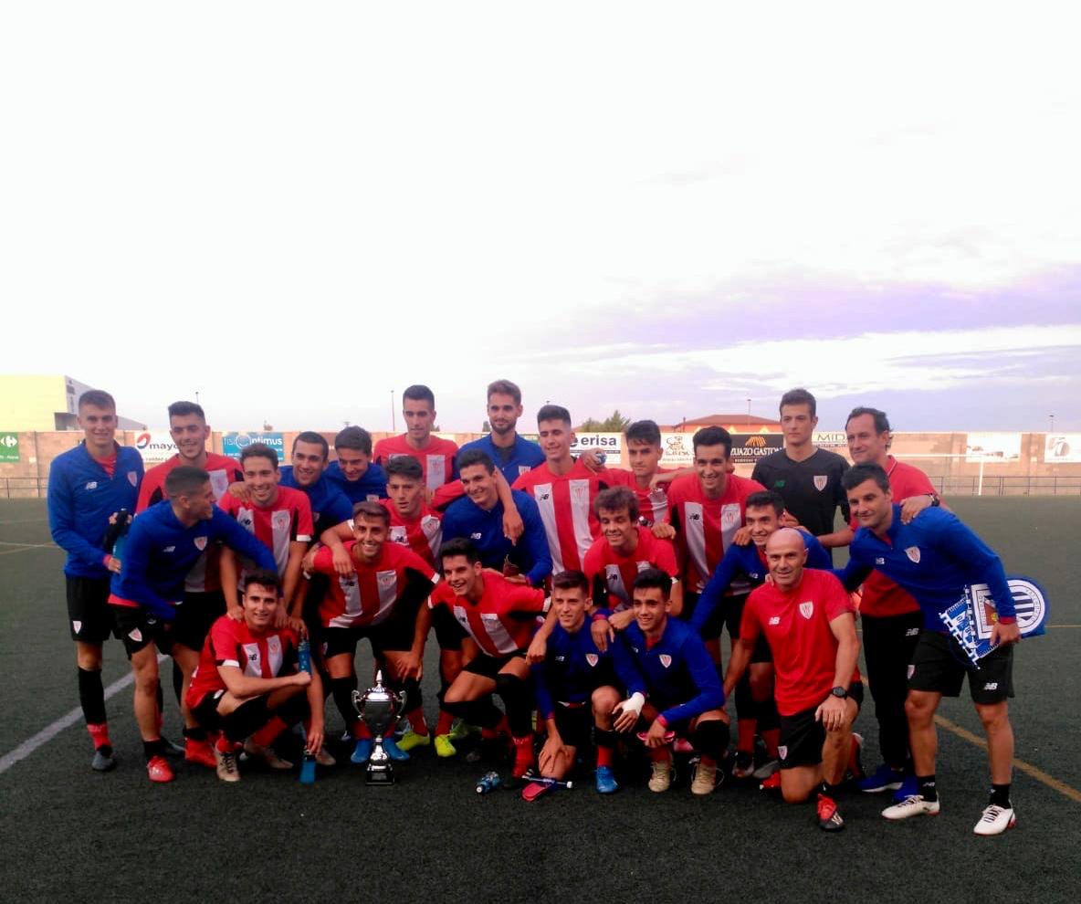 Bilbao Athletic wins the 1st Trophy S.D. Oyonesa