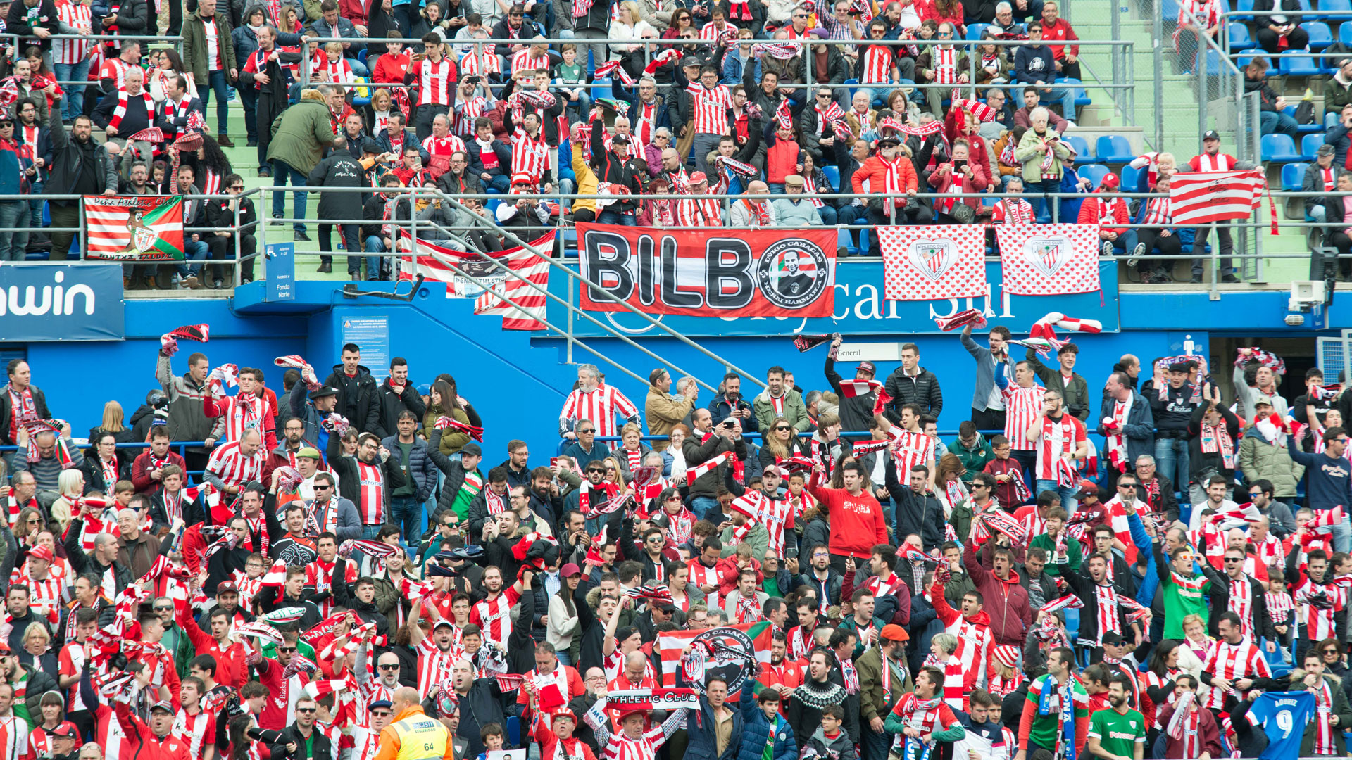 Getafe FC-Athletic Club: Retirada de entradas
