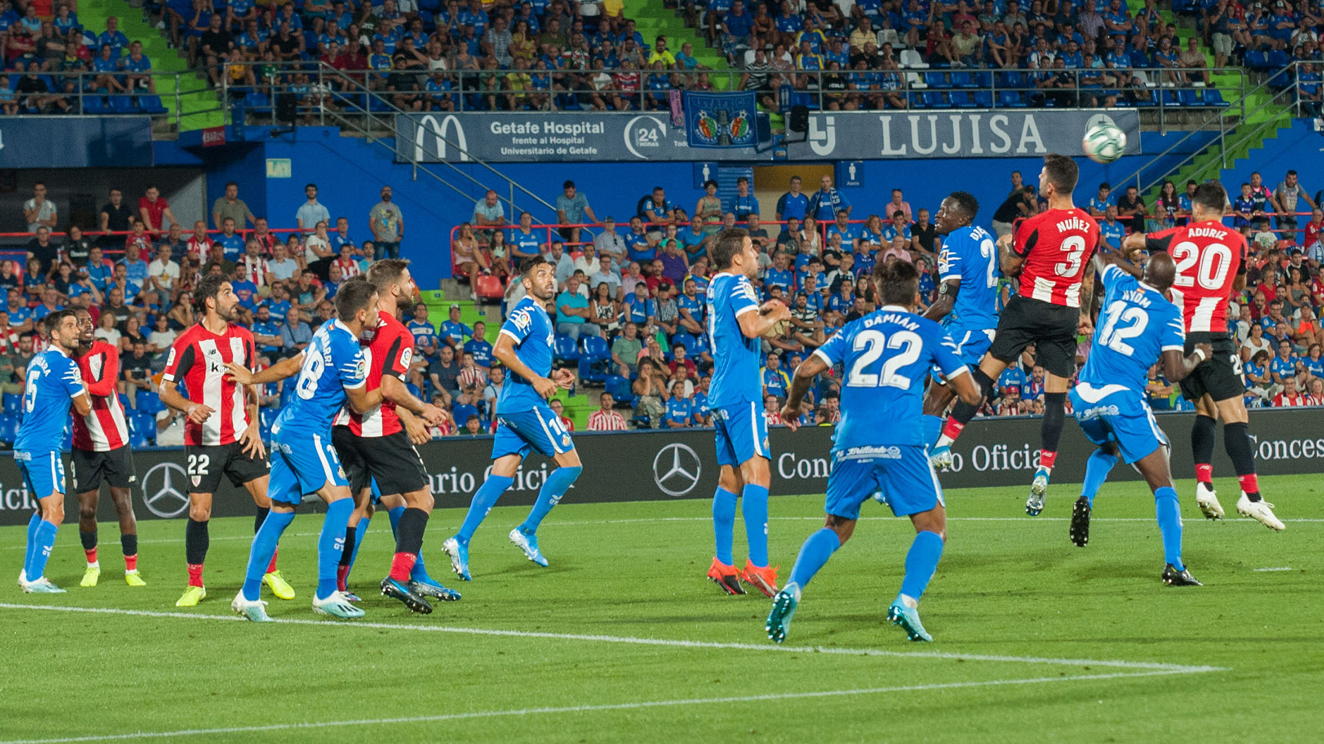 Worthy point of the Athletic in Getafe