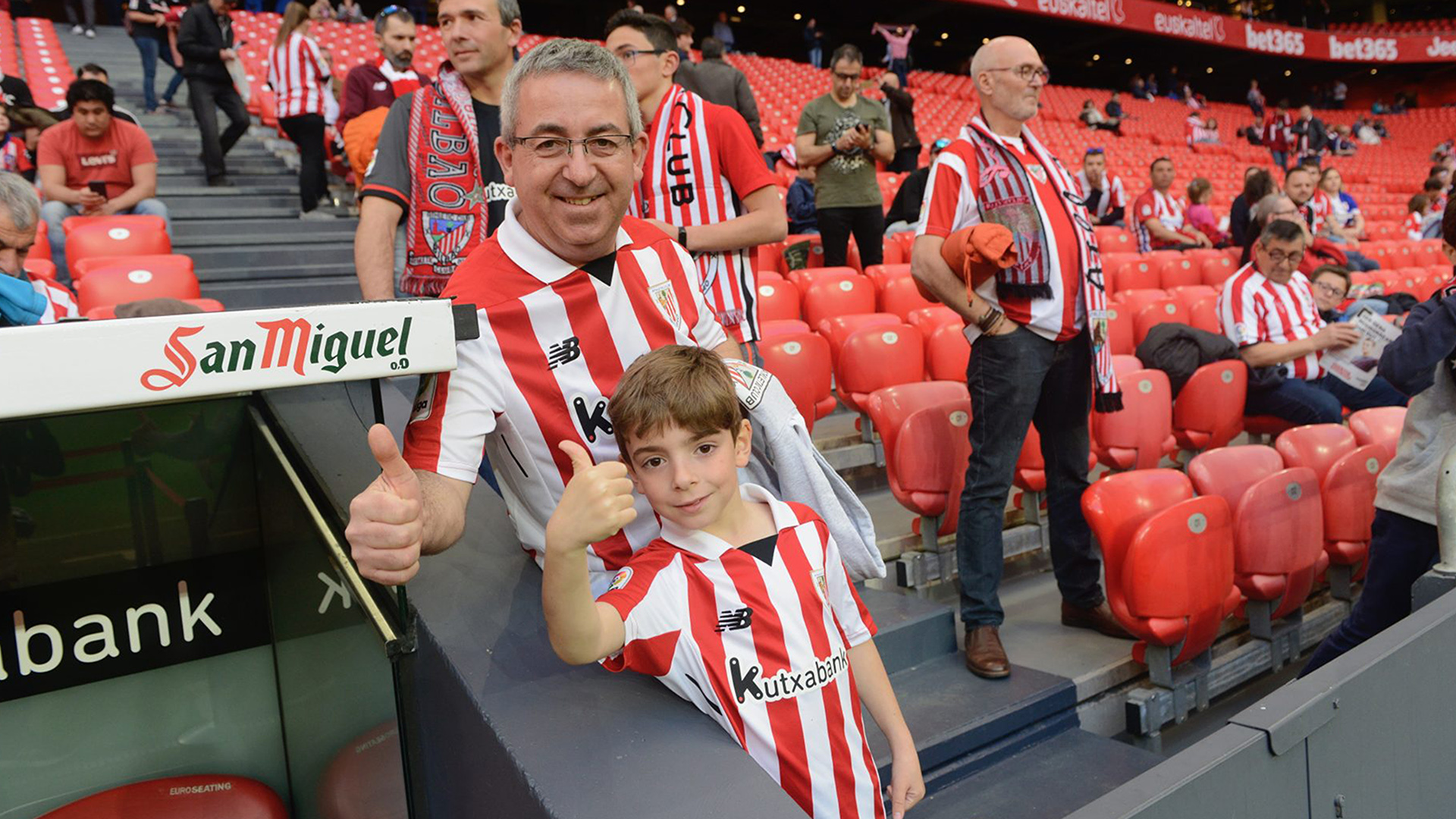 Tickets for minors accompanied by members for the Athletic Club – Real Sociedad match
