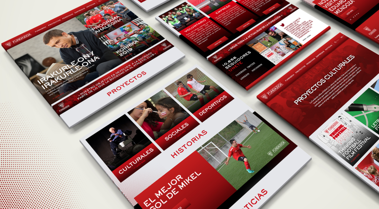 La Fondation Athletic Club lance son site web