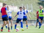 Athletic Club ladies' team work plan until September 8