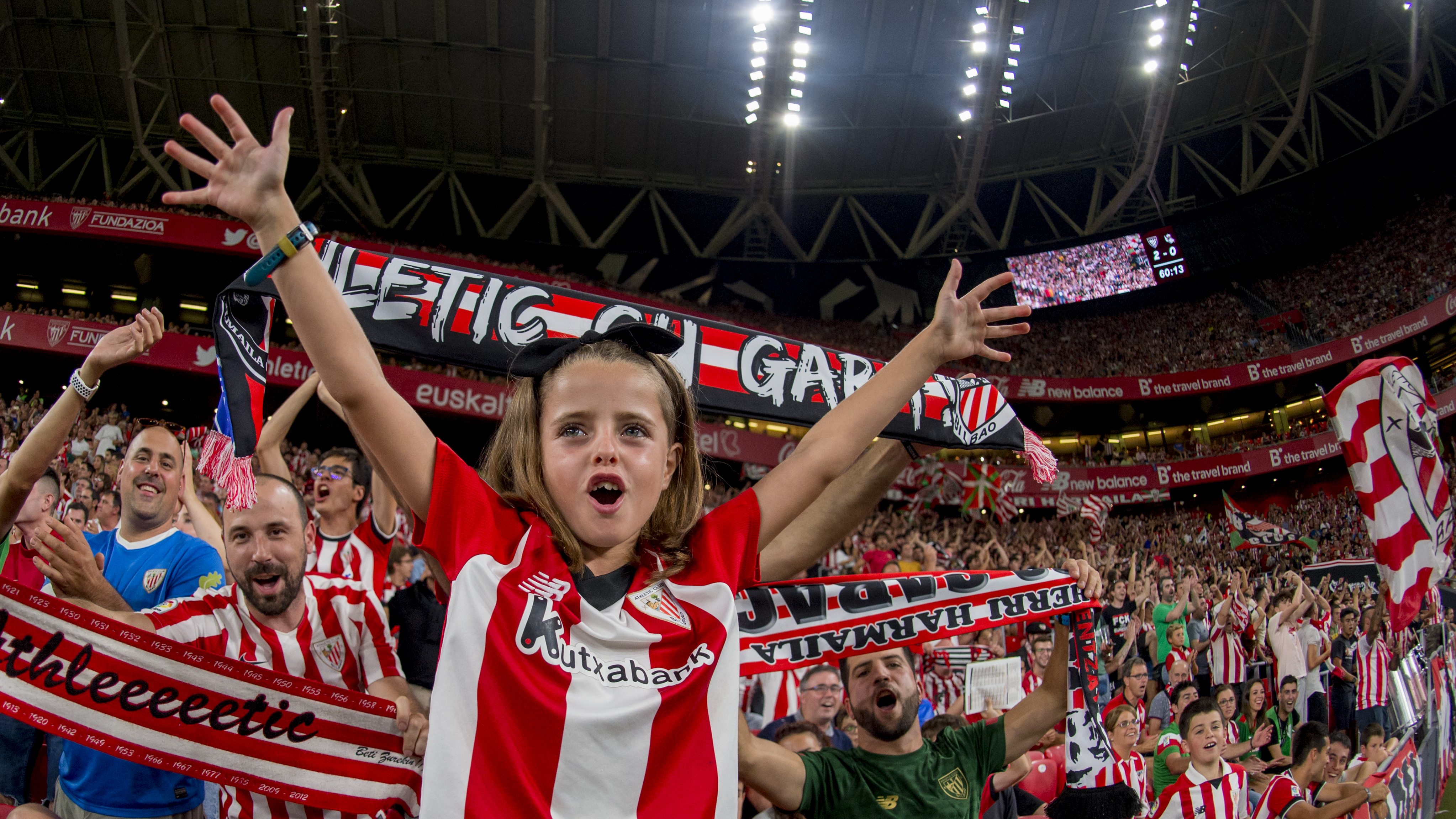 Tickets for minors accompanied by members for the match against Alavés