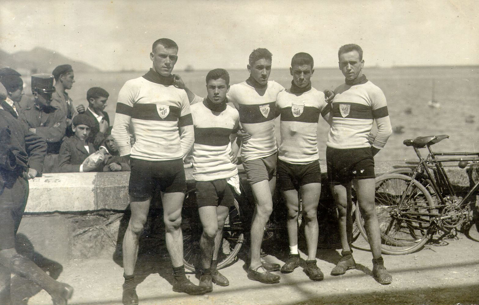 La sección ciclista del Athletic Club