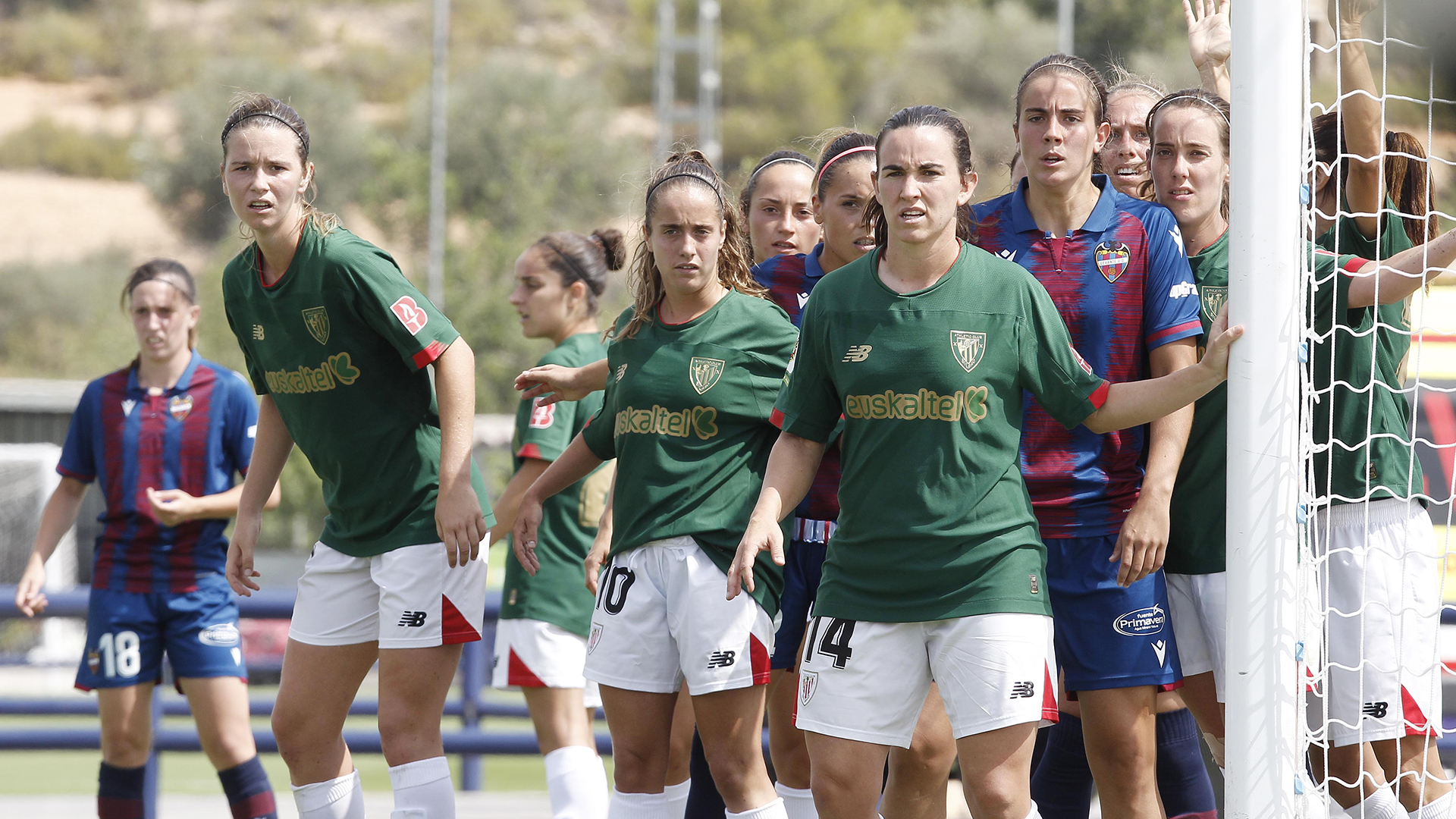 Athletic Club ladies' team falls in the final stretch against Levante