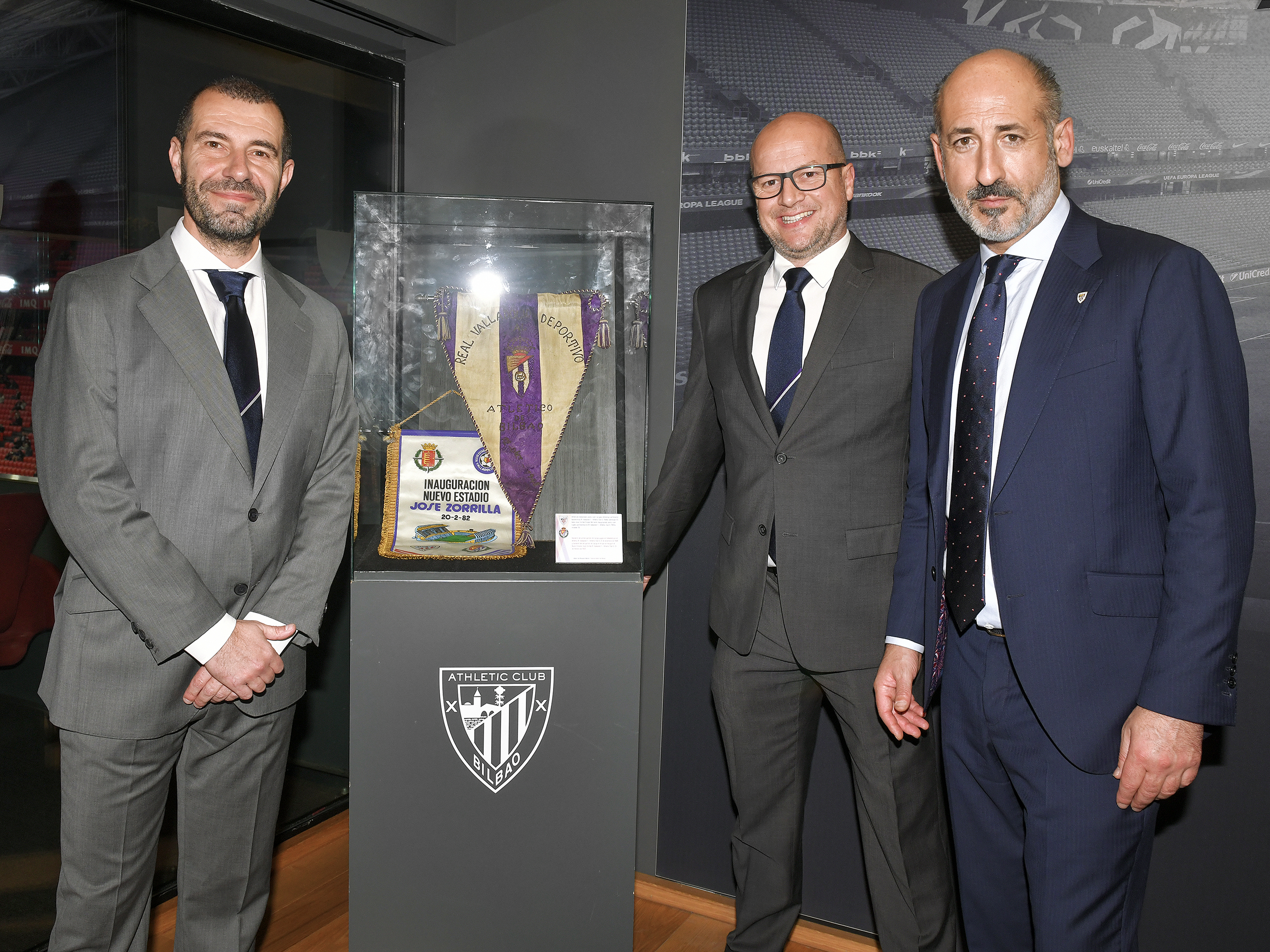 Director's box: Athletic Club – Real Valladolid