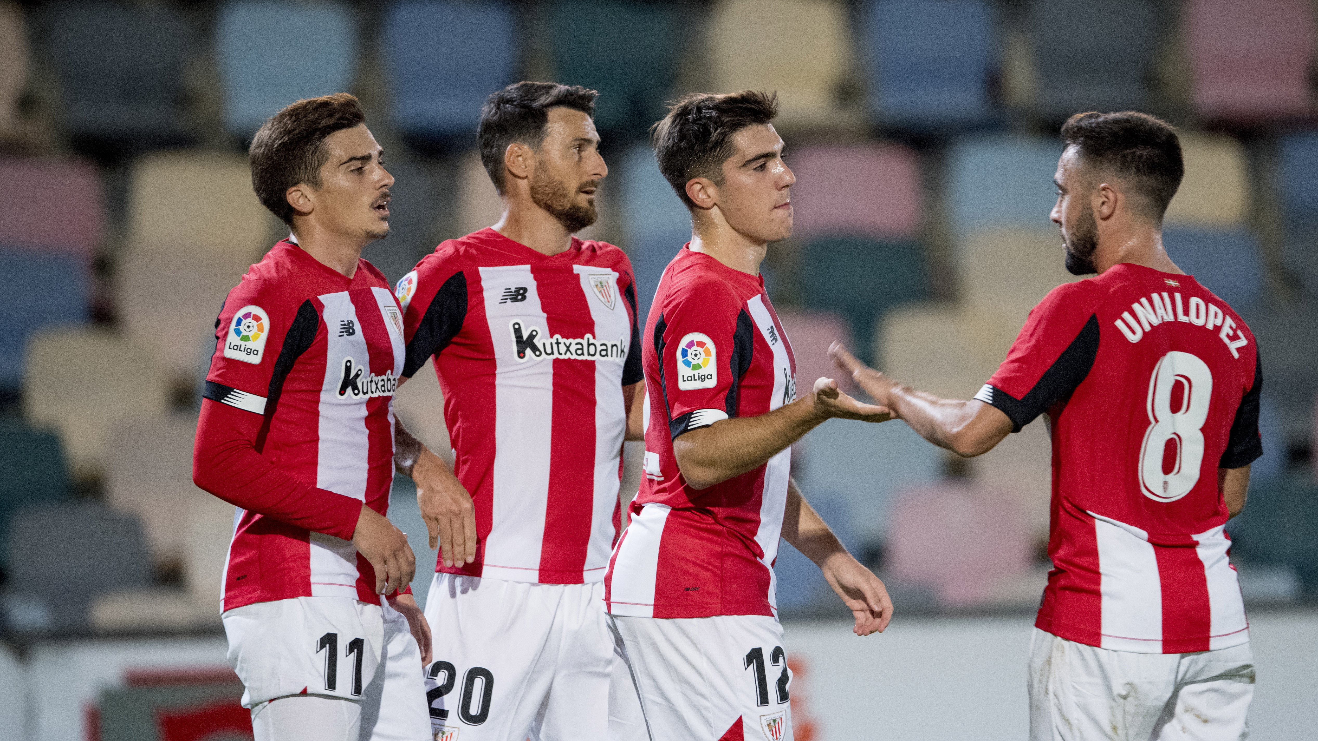 L'Athletic gagne le triangulaire de Barakaldo