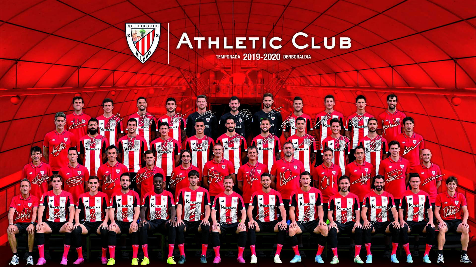 Póster oficial del Athletic Club 2019/20