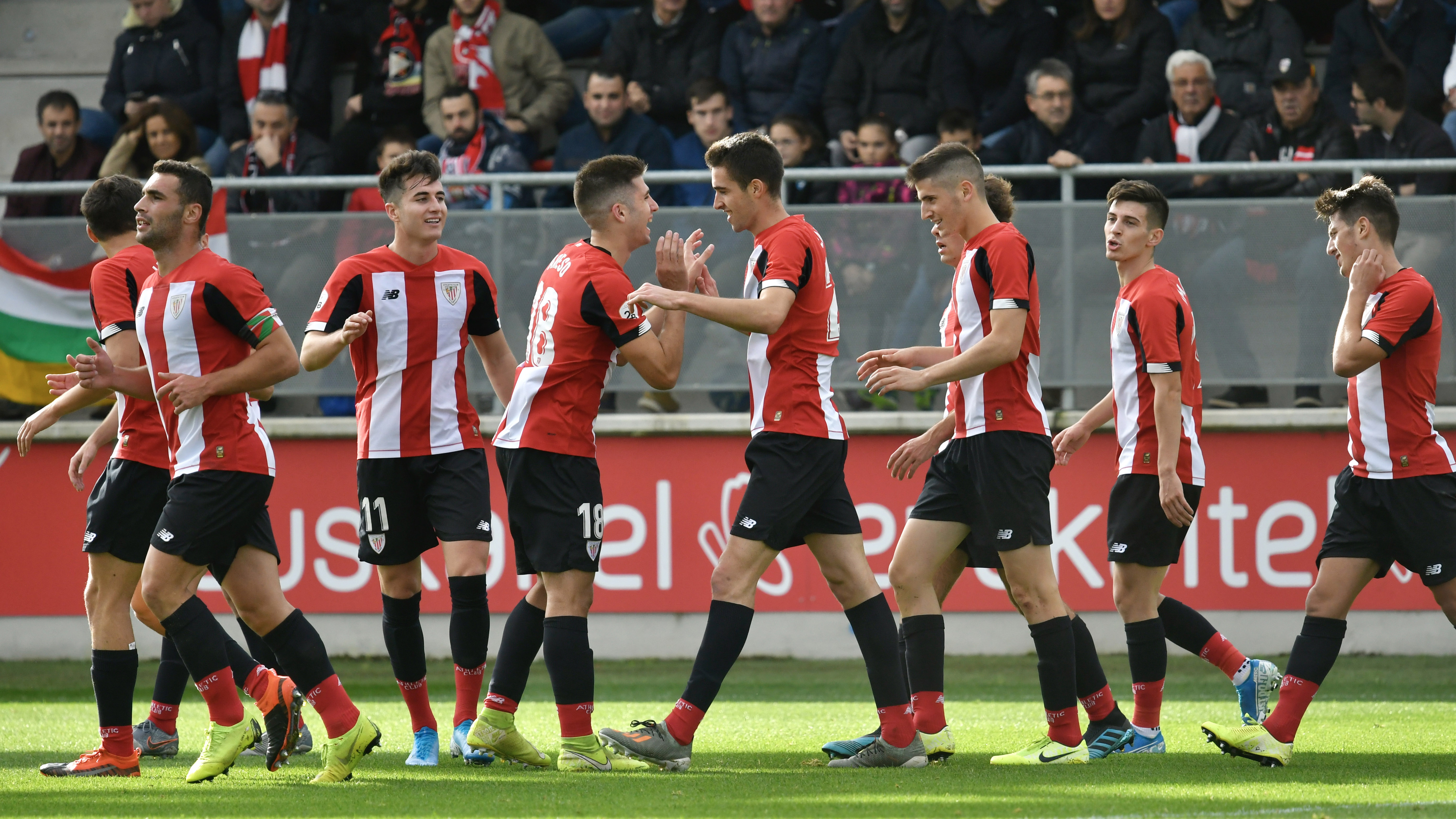 Bilbao Athletic come out winners from the clash between the top two teams