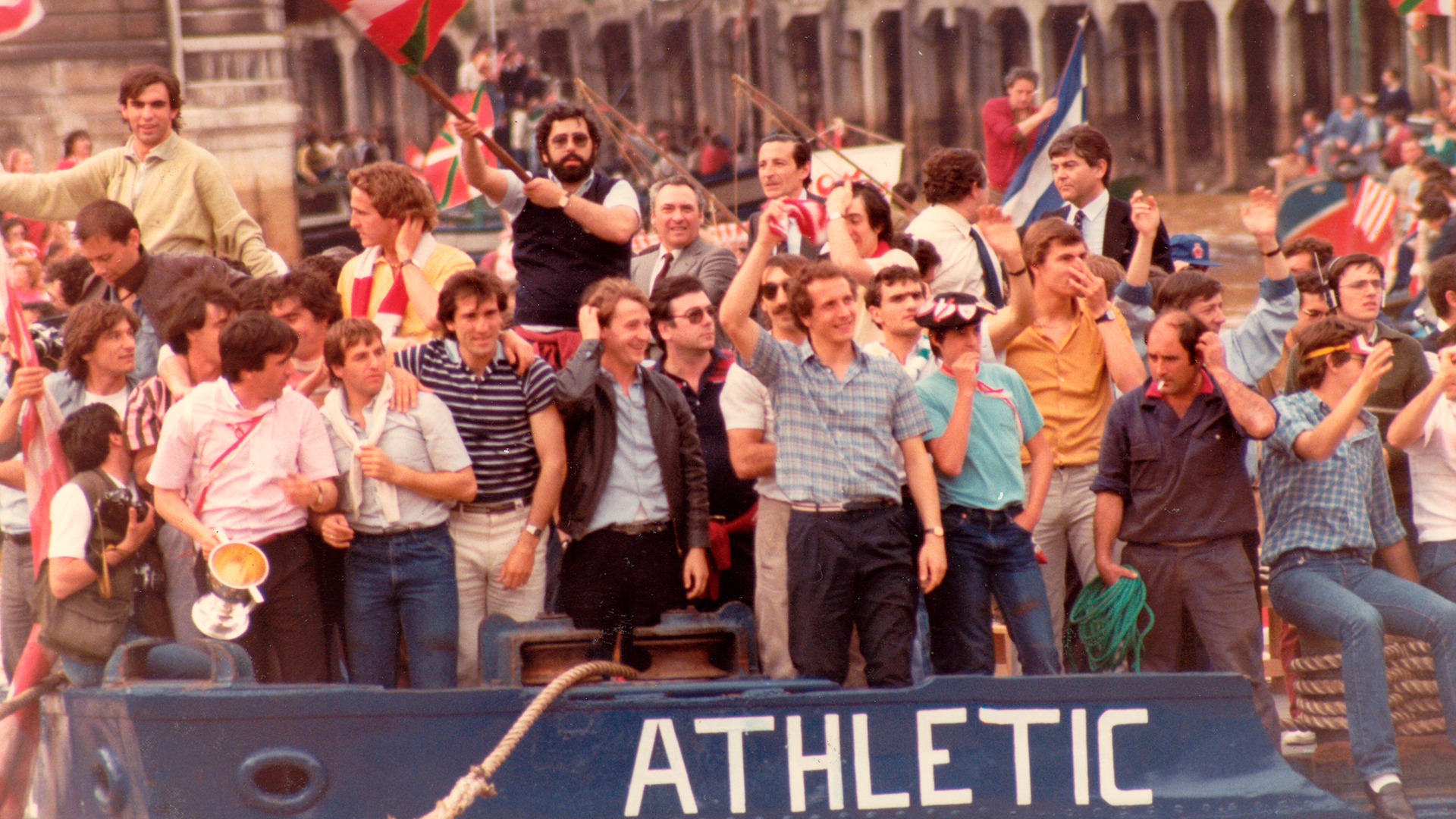 """The Barge years. The Athletic of 1983 and 1984"""
