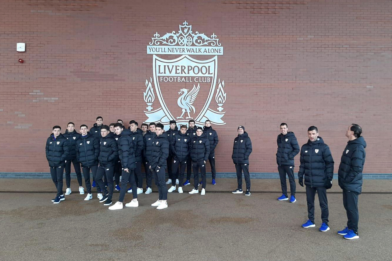 Liverpool FC – Athletic Club U23, en directo