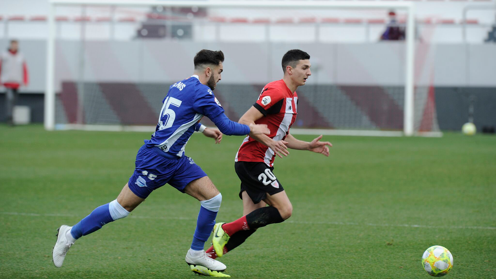 Bilbao Athletic begins the second round in Lezama