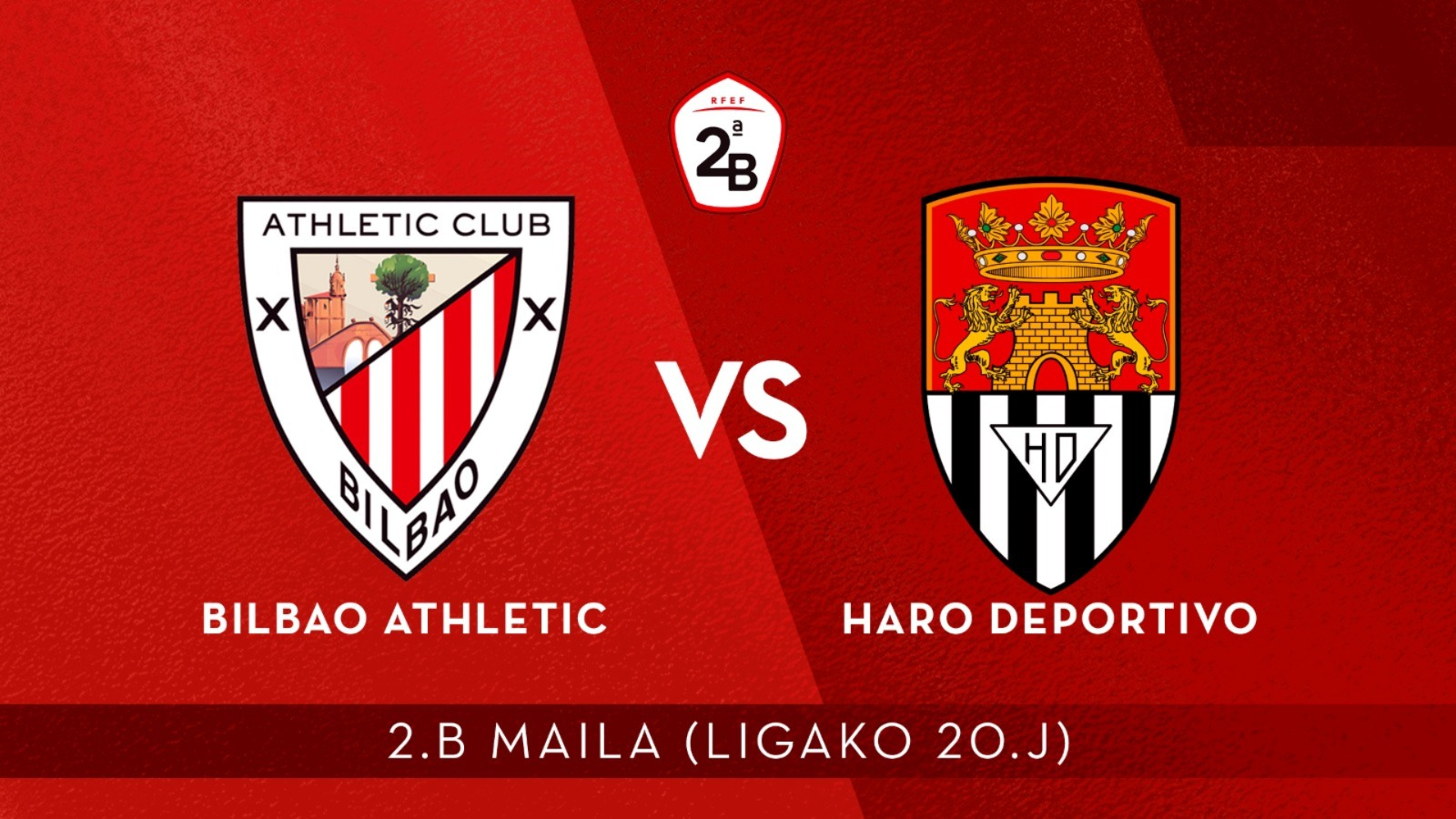 En directo: Bilbao Athletic-Haro