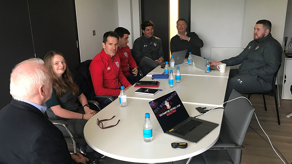 Recruitment is at the center of discussion at the meeting held with Inter, Salzburgo and Southampton
