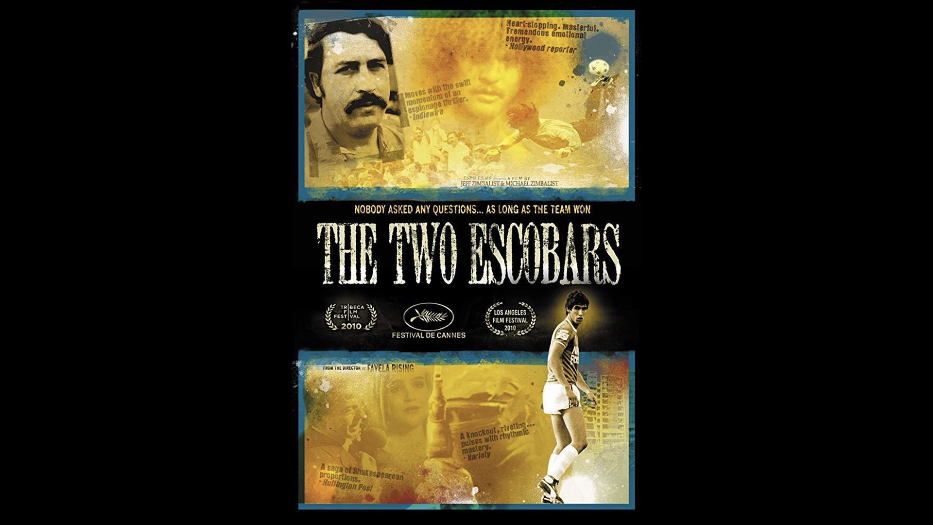 Highlights of Thinking Football (IV): 'The two Escobars'