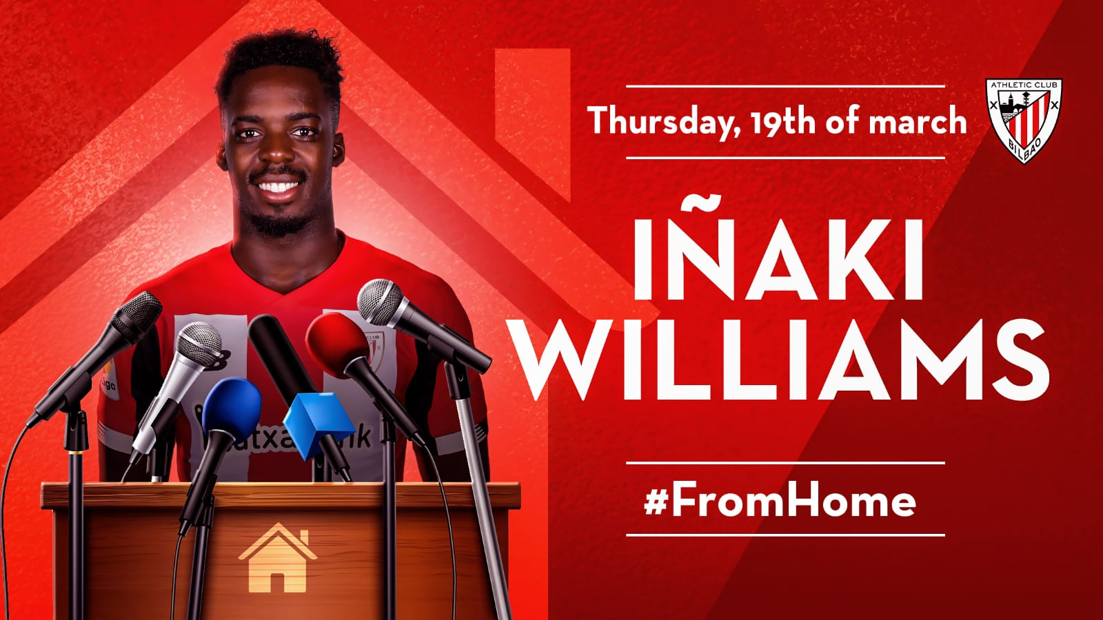 Williams answers #FromHome