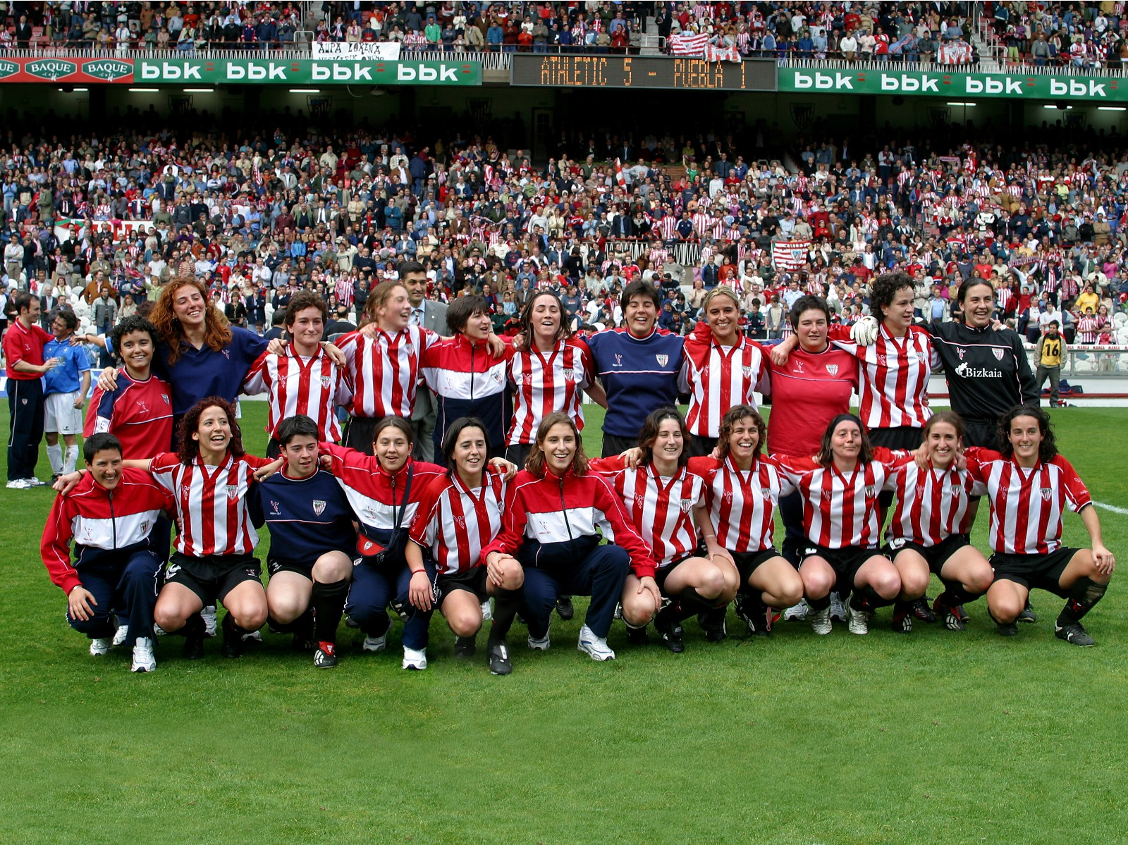 17 years since the first Athletic women's match at San Mamés