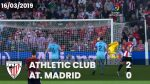 Full match: Athletic 2 – Atlético 0 (LaLiga 2018-19)