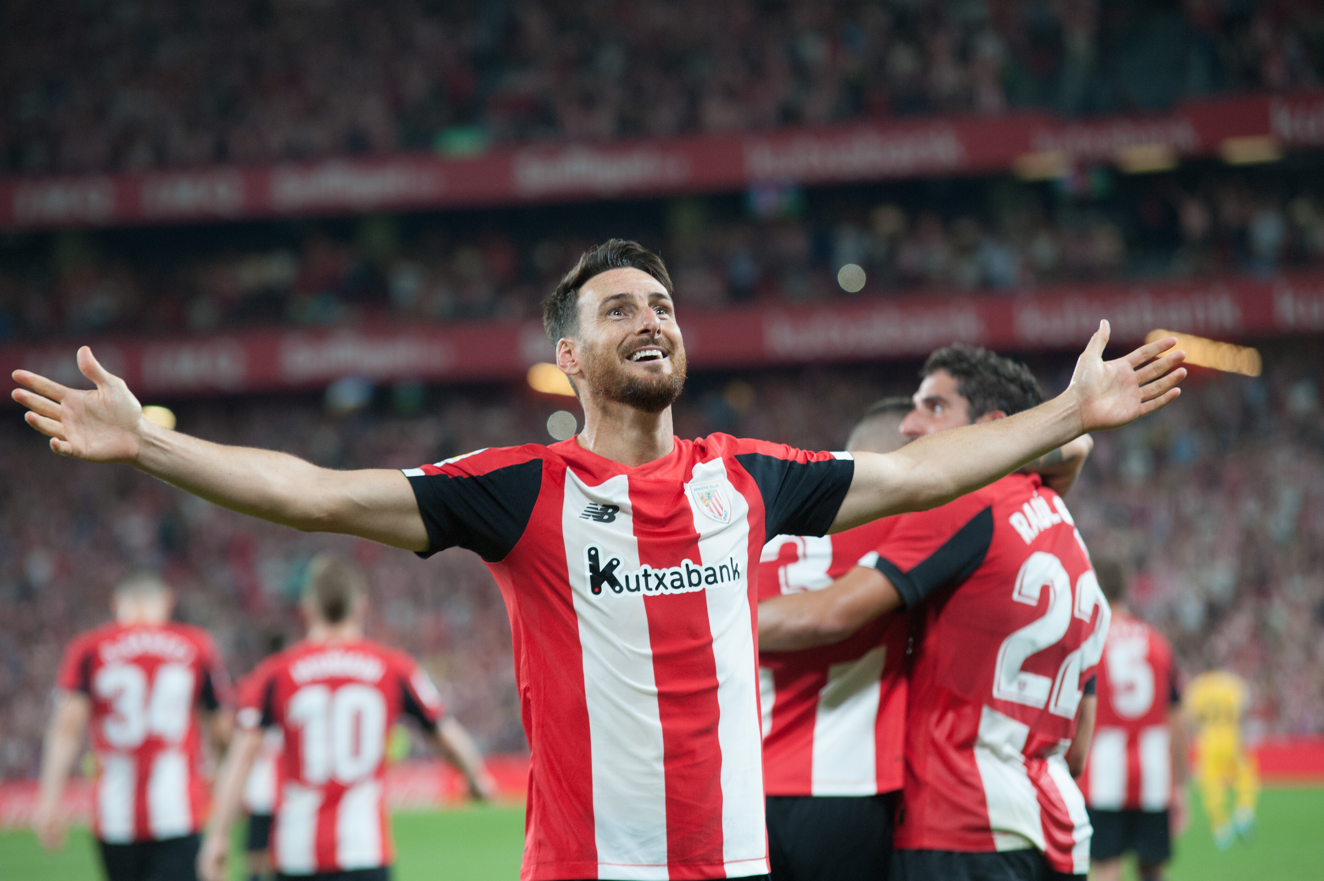 Aduriz hangs up his boots at Athletic Club