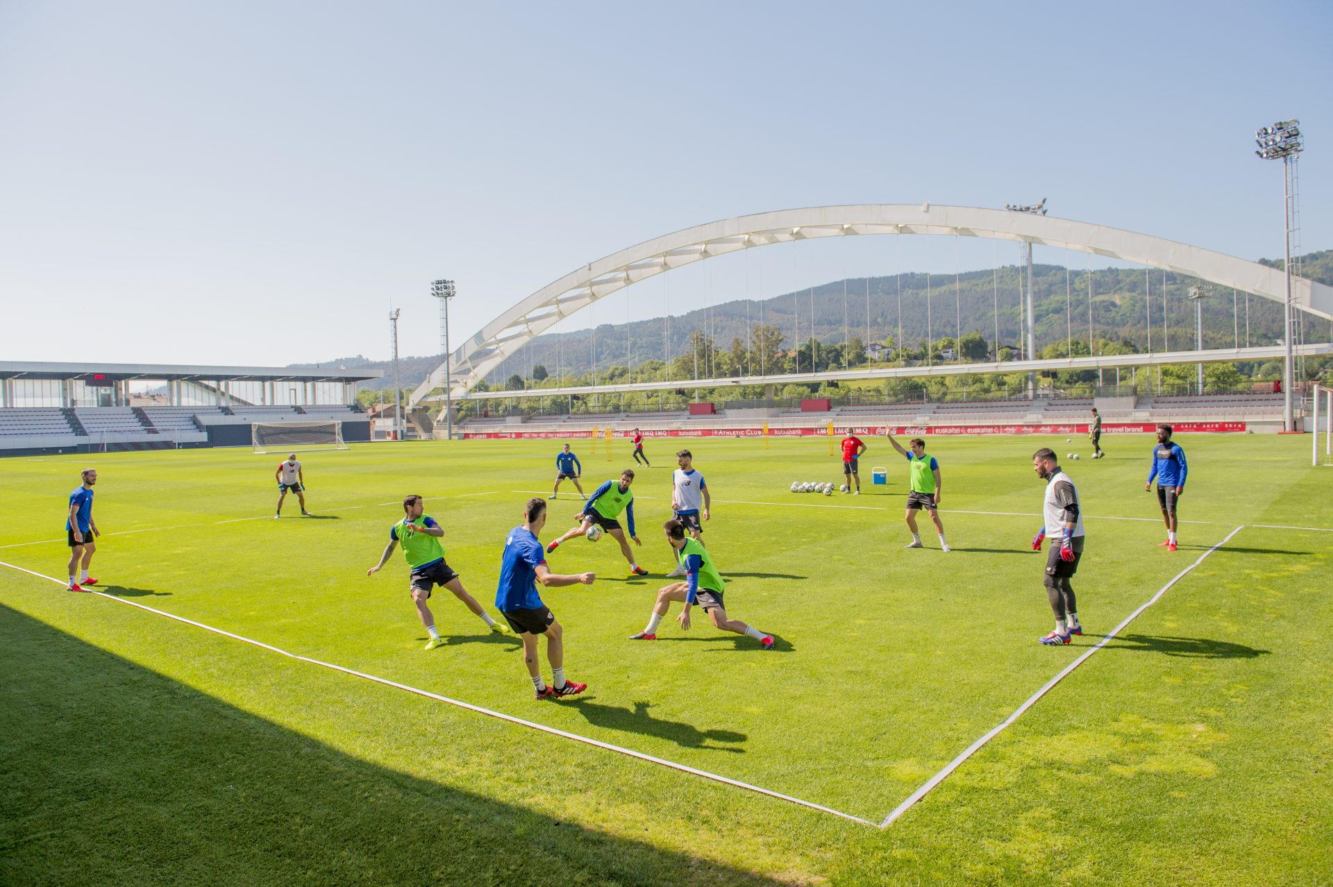 Athletic Cluben entrenamendua (2020/05/18)