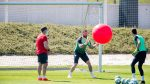 The best pictures of the training session (Thursday 28)