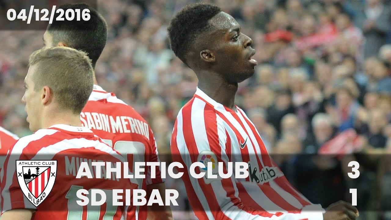 Partido Completo: Athletic Club – SD Eibar (LaLiga 2016-17)